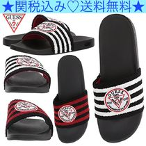 Guess Stripes Blended Fabrics Sandals