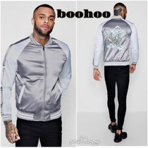 boohoo Street Style Other Animal Patterns Souvenir Jackets