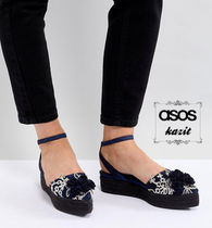 ASOS Platform Casual Style Lace-Up Shoes
