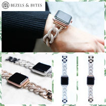 BEZELS & BYTES Casual Style Unisex Chain Stainless Watches