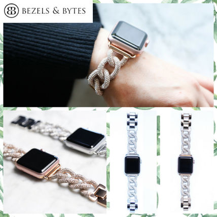 Casual Style Unisex Chain Stainless Watches