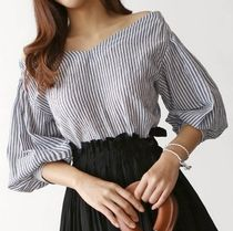 Stripes Bandeau & Off the Shoulder