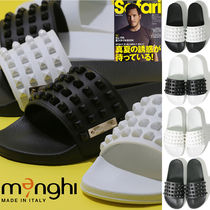 Ron Herman Street Style Shower Shoes PVC Clothing Shower Sandals