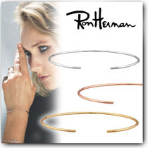 Ron Herman Street Style Handmade 18K Gold With Jewels Elegant Style