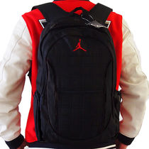 Nike AIR JORDAN Unisex Street Style Collaboration Backpacks