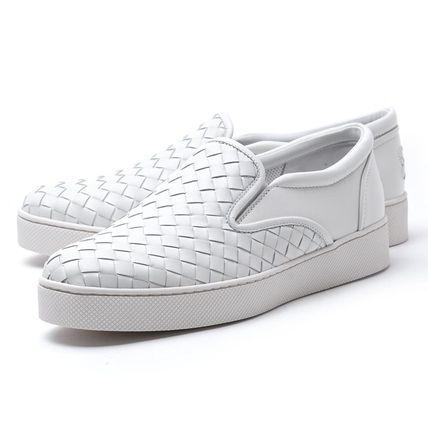 Leather Elegant Style Slippers Slip-On Shoes