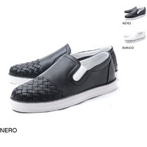 BOTTEGA VENETA Leather Slip-On Shoes