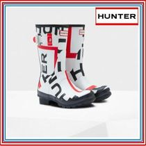 HUNTER Casual Style Rain Boots Boots