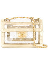CHANEL Crystal Clear Bags Elegant Style Shoulder Bags