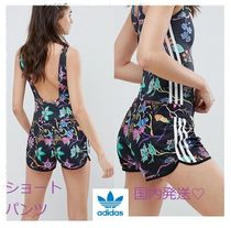 adidas Short Flower Patterns Casual Style Shorts