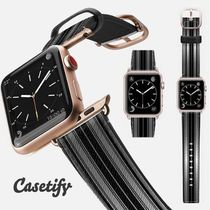casetify Casual Style Unisex Leather Watches