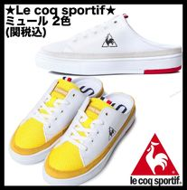 le coq sportif Casual Style Unisex Street Style Low-Top Sneakers