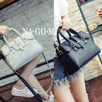 2WAY PVC Clothing Office Style Shoulder Bags