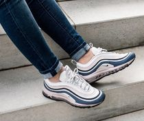 Nike AIR MAX 97 Casual Style Street Style Leather Low-Top Sneakers