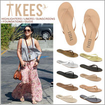 TKEES Party Style Flip Flops Flat Sandals