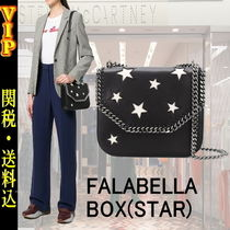 Stella McCartney FALABELLA BOX Star Casual Style Faux Fur 3WAY Chain Shoulder Bags
