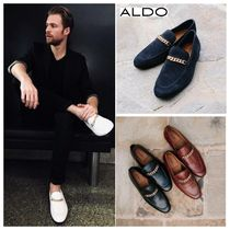 ALDO Loafers Chain Plain Leather Loafers & Slip-ons