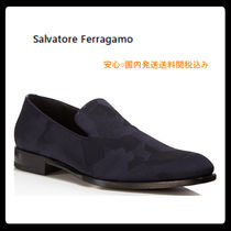 Salvatore Ferragamo Camouflage Loafers Leather Loafers & Slip-ons