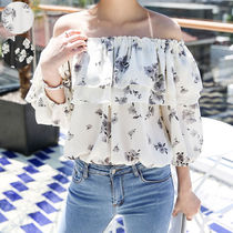 Flower Patterns Casual Style Street Style Medium