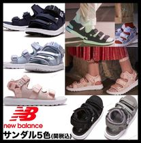 New Balance Casual Style Unisex Street Style Sport Sandals Flat Sandals