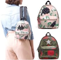 Coach Flower Patterns Camouflage Casual Style Street Style