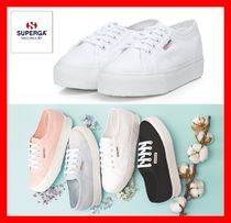 SUPERGA Platform Casual Style Street Style Platform & Wedge Sneakers