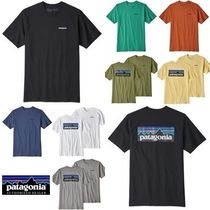 Patagonia Crew Neck Pullovers Short Sleeves Crew Neck T-Shirts