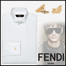 FENDI Cufflinks Plain Accessories