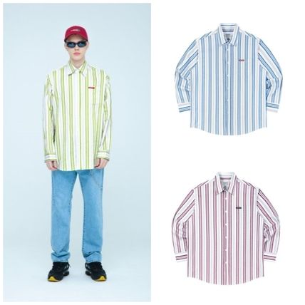 Stripes Cotton Shirts
