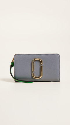Bi-color Long Wallets