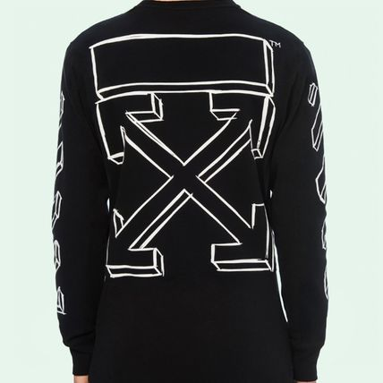Off-White More T-Shirts Long Sleeves T-Shirts
