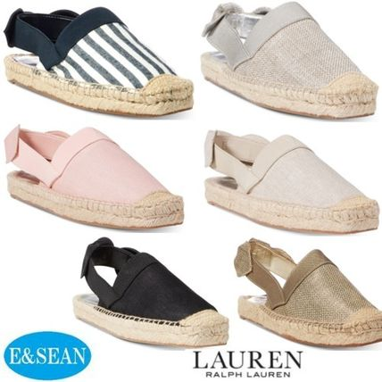 Round Toe Casual Style Plain Sandals