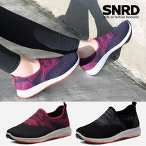 paperplanes Round Toe Rubber Sole Casual Style Slip-On Shoes