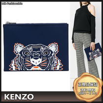 KENZO Other Animal Patterns Clutches