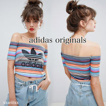 adidas Stripes Casual Style Street Style Medium