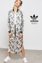 adidas Casual Style Street Style Long Jackets