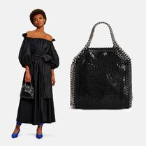 Stella McCartney FALABELLA Plain With Jewels Totes