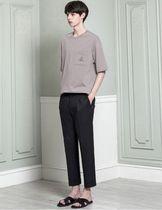 Plain Cropped Pants