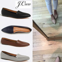 J Crew Plain Leather Loafer Pumps & Mules