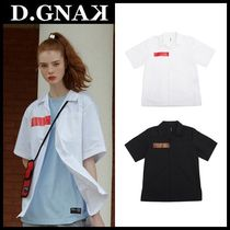 DBYDGNAK Cotton Short Sleeves Shirts & Blouses