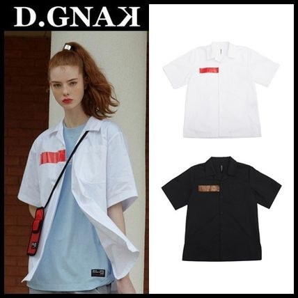 DBYDGNAK Shirts & Blouses Cotton Short Sleeves Shirts & Blouses