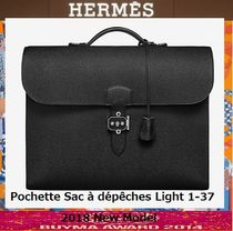 HERMES Calfskin Business & Briefcases