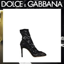 Dolce & Gabbana Pin Heels Elegant Style Ankle & Booties Boots