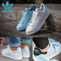 adidas STAN SMITH Casual Style Unisex Street Style Plain Leather