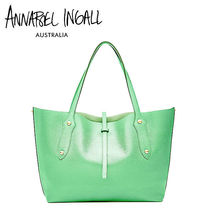 Annabel Ingall A4 Plain Leather Office Style Totes