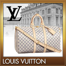 Louis Vuitton DAMIER AZUR Canvas A4 2WAY Boston & Duffles