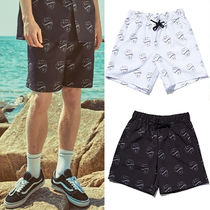OVERR Printed Pants Unisex Street Style Shorts
