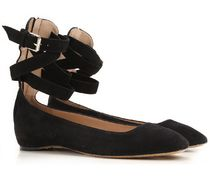 VALENTINO Suede Ballet Shoes