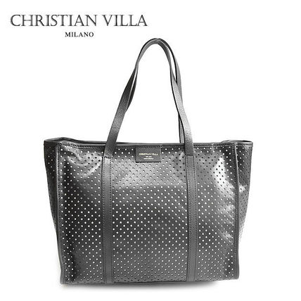 Star A4 Leather Office Style Totes