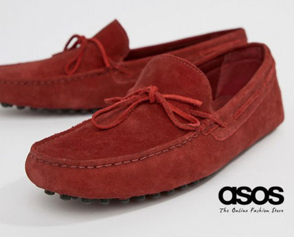 d05702fbc8c5d ASOS 2018 SS Driving Shoes Suede Loafers & Slip-ons by kazitJP - BUYMA
